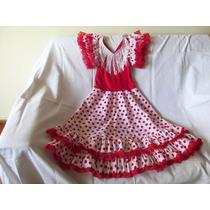 Vestido De Flamenco Niña