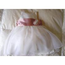 Vestido Bautismo Cortejo Ropa Bebé Beba Novia Casamiento