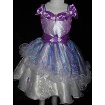 Hermoso Vestido Para Bautismo Cortejo Fiesta Varios Colores