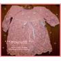 Vestidos Para Recién Nacidas A 3 Meses - Tejido Artesanal