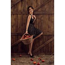 Elegante Vestido Las Oreiro Nuevo Con Etiquetas Talles 1 Y 3