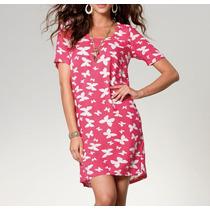 Moderno Y Amplio Vestido Estampado . Nuevo Diseño!!