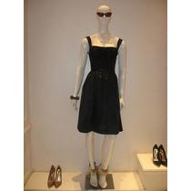 Elegante Vestido Las Oreiro Nuevo C/ Etiquetas Talles 1 Y 3