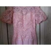 Vestido Largo De Fiesta O Madrina - Color Rosa