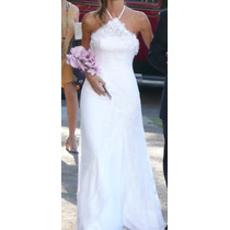 Vestido De Novia Alta Costura De Conocido Diseñador Divino!!