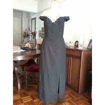 Conjunto De Chantú, Raso Opaco, Modista Alta Costura