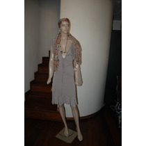 Zhoue Vestido De Algodon Y Lycra Color Marron S Promo