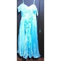 Vestido Fiesta Largo 15 Años Cenicienta
