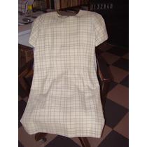 Vestido M/corta T/jackie Forrado 1/2 Tiempo-¡calidad! - T:s