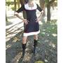Vestido Diseño Independiente Vibra Positiva Lanilla Y Modal
