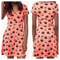 Vestido Cerezas Importado Tipo Forever 21 Tambien Embarazada