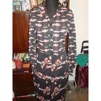 Retro Vintage Vestido De Jersey Modelo Falmenco