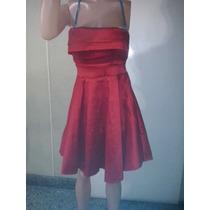 Vestido Campanita Taftan Elastizado T M Al Xl $ 600