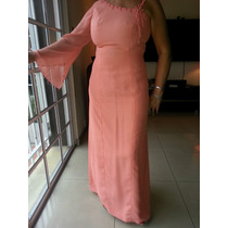 Vestido De Fiesta / Madrina - Impecable! Color Salmon