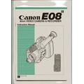 Manual Filmadora Canon E08
