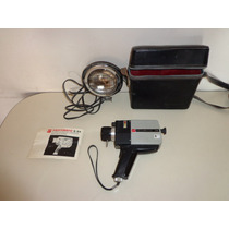 Camara Filmadora Gaf Anscomatic S/84 Super 8 C/estuche Flash