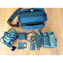 Filmadora Sony Handycam Ccd-sc5 Modelo Video 8 Mm Completa