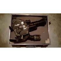Antigua Filmadora 16mm Beaulier Con Accesorios Bateria Agot.