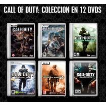 Call Of Duty Coleccion Coleccion Para Pc (12 Dvds)