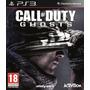 Call Of Duty Ghosts Ps3 Nuevo Sellado Original Español