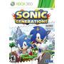 Sonic Generations Xbox 360 En Español Nuevo Sellado Original