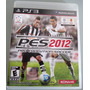 Juego Ps3 Play Station 3 Pes 2012 Pro Evolution Soccer Caja