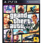 Grand Theft Auto 5 - Gta V - Ps3 - Español