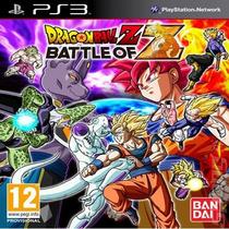 Dragon Ball Z Battle Of Z Ps3 Original Sellado