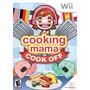 Cooking Mama Cook Off Juego De Cocina Caja Original Para Wii