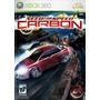 Need For Speed Carbon Xbox 360 Ntsc Nuevo Sellado Original