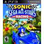 Sonic Y Sega All Stars Racing Ps3 Zona 1 Nuevo Sellado