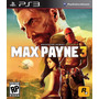 Ps3 Max Payne 3 Subtitulos Canjes Español Local Banfield