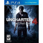 Uncharted 4 The Thief´s End Ps4 Fisico Nuevo Esp