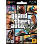 Gta V Grand Theft Auto 5 + Dlc Dirigible + Theme Ps3 Digital