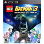 Lego Batman 3 Beyond Gotham Nuevo Ps3 Dakmor Canje/venta