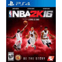 Nba 2k16 Ps4 Digital Primario Maximo Games