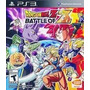 Dragon Ball Z Battle Of Z, Ps3, Nuevo Y Sellado Disco Fisico