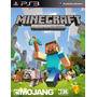 Minecraft Ps3 Playstation 3 Edition + Los 12 Dlc Pack
