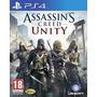 Assassins Creed Unity Play Ps4 Secundario El Mejor Precio!