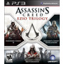 Assassins Creed Trilogy // Nuevo Y Sellado Para Ps3