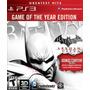 Batman Arkham City Para Ps3 Nuevo Sellado En Caja