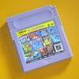 Cartucho 108 En 1 Gameboy Gba - Mario Dx Kof96 Batman Contra