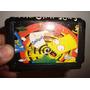 Sega Juego Cartucho The Simpsons En Caballito *