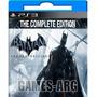 Batman Arkham Origins Ultima Edicion Ps3 Playstation 3