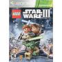 Lego Star Wars Iii The Clone Wars Xbox 360 Original Cerrado!