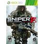 Sniper 2 Ghost Warrior Xbox 360 Ntsc Nuevo Sellado Original