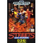 Juego Streets Of Rage Bare Knuckle Sega Genesis Palermo Znor
