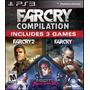 Far Cry 3 Compilation Blood Dragon Ps3 Original Físico Disco