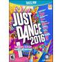 Just Dance 2016 Wii U Nintendo Nuevos Sellados Originales