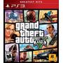 Gta 5 Grand Theft Auto V Juego Ps3 Original Sellado Fisico